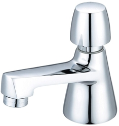 0355-an2c Central Brass Ada Polished Chrome Single Hole 1 Hole Push Handle Basin Faucet CAT152,0355-AN2C,763439089298,CHI0355AN2C,30763439089299