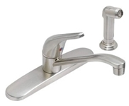P4c-140ss Matco Ada Stainless Lf 8 In Centerset 4 Hole 1 Handle Kitchen Faucet With Matching Spray CATMATFPL4,P4C-140SS,82647145986,P4C140SS,CL-140SS,CL140SS,CL-140SS,82647002067,FT-210SELS,P4C-140SS,P4C140SS,MATCL140SS,082647145986,