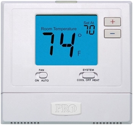 Pd411060 T-701 Protech Pro1 Single Stage 1 Heat/1 Cool Non-programmable Thermostat CAT330PR,T701,T-701,689076824262,PRO1,PRPT,87500094,PROT701,411060,PRO1T701,TSO48,662766469905