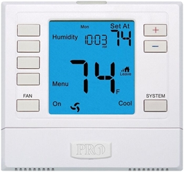 Pd411089 T-755h Protech Pro1 Single Stage 1 Heat/1 Cool Programmable Thermostat CAT330PR,T755H,411089,662766443455,662766470048