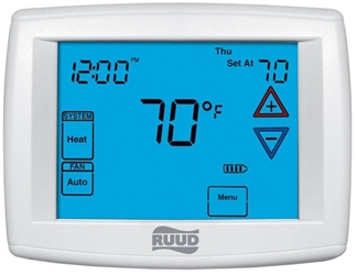 Uhc-tst501cmms Protech Multi-stage, 2 Heat/2 Cool Conventional, 4 Heat/2 Cool Heat Pump Programmable Thermostat CAT330R,UHC-TST501CMMS,UHCTST501CMMS,UHC,662766393781,UHCT,RPT,RT500,RCTSTAT,RDT