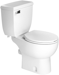 005 Saniflo White Toilet Tank Complete With Fill And Flush Valve Only CATSANF,005,75937000057,002,013,003,007,SANIBEST,SANIPLUS,SFP,SAN005,075937000057