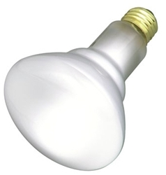 S8520 Satco Br30 Incandescent 530 Lumens E26 Medium Base Frosted Light Bulb CAT766,S8520,65R30FL,75RFL,R30,I65L,65R,65BR30,BR30,65R30,45923085208