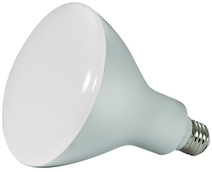 S9640 Satco Br40 Led 1200 Lumens 4000k E26 Medium Base Frosted Light Bulb CAT766,S9640,045923096402,SATS9640