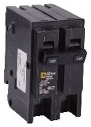 Hom2100 Schneider Electric 100a 120/240v 2 Pole Hom Plug-on Circuit Breaker CAT746,HOM2100,