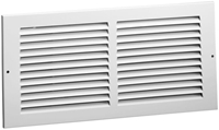 01111006cw 170 10 X 6 Bright White Steel Return Air Grille CAT350,170106,SEL170106,170,053713861222,1111006,053713862335,1111006CW,053713861215