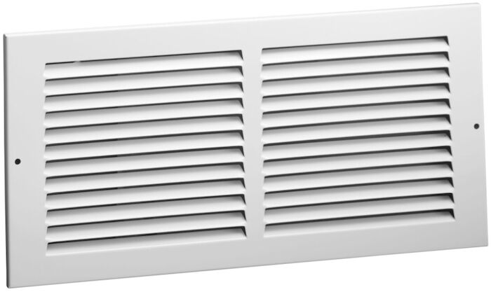 01111414cw 170 14 X 14 Bright White Steel Return Air Grille CAT350,1701414,SEL1701414,170-14X14,170,053713864452,1111414,1111414CW,053713862397