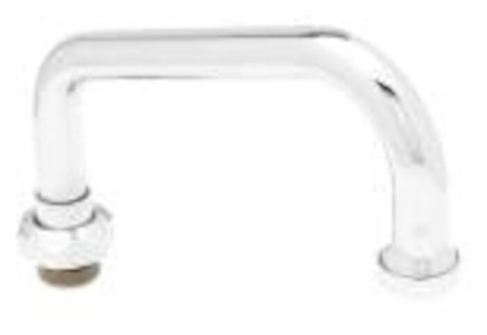 059x T&s Brass Chrome Plated Faucet Spout CAT168,059X,999000022970,TSS,671262071093