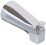 82002  1/2 Ips Polished Chrome Front Inlet Tub Spout W/ Diverter CATFAU,82002,671231820028,