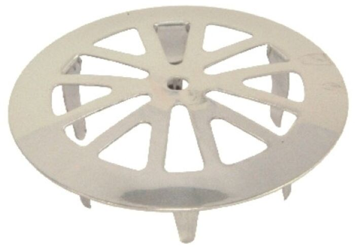 88003 Price Pfister Polished Chrome Round Grid Strainer CATFAU,88003,671231880039,