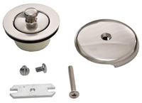 4t-1905c-30 Trim To The Trade 1-5/8 Polished Nickel Bath Drain Conversion Kit CAT176,4T-1905C-30,4T1905C30,
