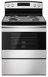 Amana 30 Electric Range Stainless Steel CAT302A,883049408477
