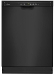 Amana 23-7/8 Full Console Dishwasher Black CAT302A,ADB1700ADB,883049355023