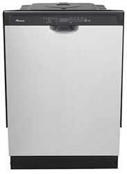 Amana 23-7/8 Full Console Dishwasher Stainless Steel CAT302A,ADB1700ADS,883049355030