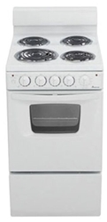 Amana 20 Electric Range White Ada CAT302A,883049137407