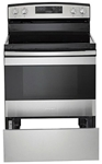 Amana 30 Electric Range Stainless Steel CAT302A,883049411316