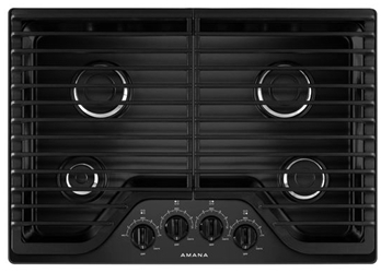 Amana 30 Black Cooktop Ada Sealed Natural Gas CAT302A,AGC6540KFB,883049401829