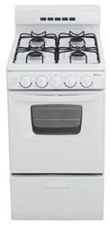 Amana 20 Natural Gas Range White Ada CAT302A,883049137414