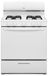 Amana 30 Natural Gas Range White CAT302A,AGR4230BAW,883049283616