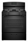 Amana 30 Natural Gas Range Black CAT302A,AGR5330BAB,883049283647
