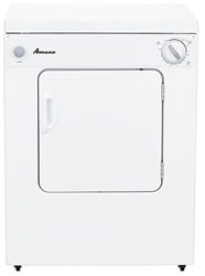Amana 3.4 Cu Ft Front Load Electric Laundry Dryer White Ada CAT302A,NEC3240FW,883049376653