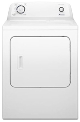 Amana 6.5 Cu Ft Front Load Natural Gas Laundry Dryer White CAT302A,NGD4655EW,883049348599