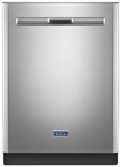 Maytag 23-7/8 Full Console Dishwasher Fingerprint Resistant Stainless Steel CAT302M,MDB8959SFZ,883049397856
