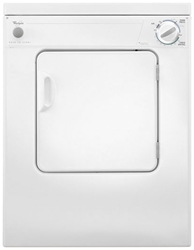 Whirlpool 3.4 Cu Ft Front Load Electric Laundry Dryer White CAT302W,LDR,50946958309,050946958309