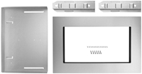 Whirlpool 30 Microwave Trim Kit Stainless Steel CAT302W,883049262376
