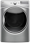Whirlpool 7.4 Cu Ft Front Load Electric Laundry Dryer Diamond Steel Ada CATO302W,WED92HEFU,883049385198