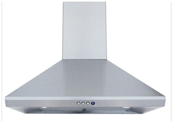 Windster Hoods 36 Wall Mount Range Hood Stainless Steel CATWIN,RA-14L36SS,812641020503