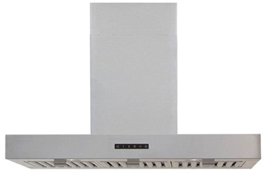 Windster Hoods 36 Wall Mount Range Hood Stainless Steel CATWIN,WS-28TB36SS,812641021500