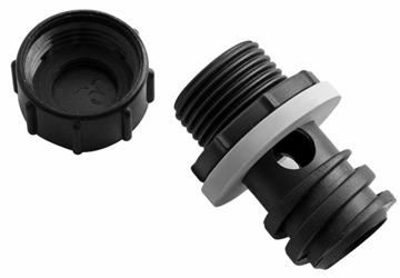 Dph Yeti Drain Plug With Hose Connection CAT520,DPH,014394520617