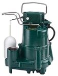 98-0001 Zoeller (m98) 1/2 Hp 115 Volts Ci Sump Pump W/ Float CAT400Z,M98,999000057983,980001,98,053514029463