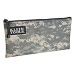 5139c Klein Tools Cordura Fabric Zipper Pouch CAT526,5139C,92644530135,092644530135
