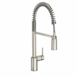 5923srs Moen Align Spot Resist Stainless Lead Free Single Hole 1 Handle Kitchen Faucet Pull-down Spray CAT1612ND,5923SRS,MFGR VENDOR: MOEN,PRCH VENDOR: MOEN,026508267035,