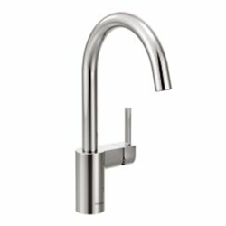 7365 Moen Align Ada Pc Lf 1 Hole 1 Or 3 Hole 1 Handle Kitchen Faucet CAT1612ND,7365,026508251171,