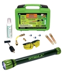 Opk-50ez/e Complete Kit With Opx-500 Optimax Jr Cordless Leak Detection Flashlight, Ez-ject A/c Dye Injection System, Uvs-40 Glasses, Glo-away Dye Cle CAT380SP,OPK50EZE,00672052230607
