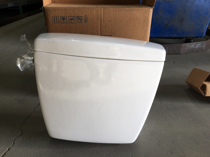 (discontinued) St406.01 White 1.6 Gpf Rowan Single Flush Toilet Tank Cotton Only - TOTST40601