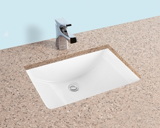 Lu2014sk Winfield White Single Hole Under Counter Lavatory 20-1/2 X 14-1/2 X 8 CATWINF,LU2014SK,LU2014,WUMS,NVC1814,NVC1814WH,RV3191,812042020126,