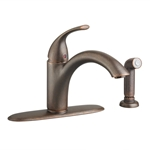 4433.001.224 D-w-o Oil Rubbed Bronze Lf Quince Kitchen With Side Spray CATO117L,4433.001.224,012611501753,4433001224