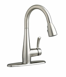 4433.300.075 Stainless Stl Lf Quince High-arc Pull-down Kitchen CAT117L,4433.300.075,012611501432,4433300075,