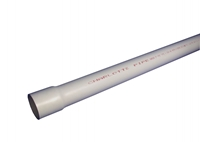 1-1/4 In X 20 Ft Pvc Pipe Schedule 40 Belled End CAT461,01700400,114PV40,P40H,P4H,840GP,820GP,061194203930,098248420568,