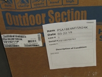 1014211p May 2 Ton 14 Seer R410a A/c Cu Not Factory Fresh Packaging Status L CATDMAY,663132354832