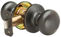 80sn10bp Yale Ye Series 2-13/64 Door Knob Oil Rubbed Bronze CATYAL,80SN10BP,YALE,SINCLAIR,KNOB,