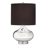 70829 D-w-o Table Lamp 1lt Soft Contemp/casual Lifestyle Lamps Table Mercury Glass CATD731K,70829,38463031880,CATD731K,038463031880